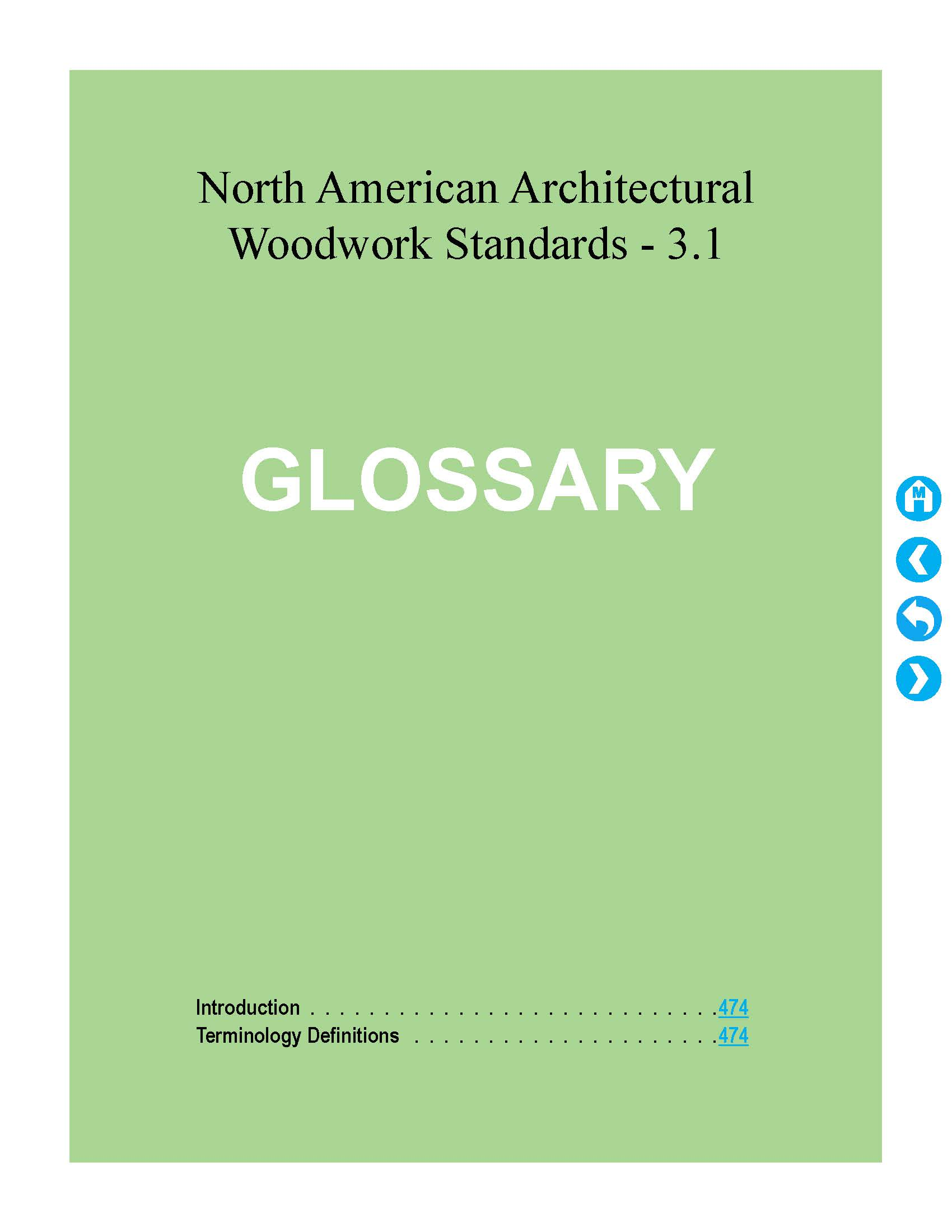 NAAWS English Glossary Cover Image